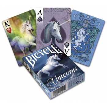 Pokercards Anne Stokes Unicorn Deck Bicycle