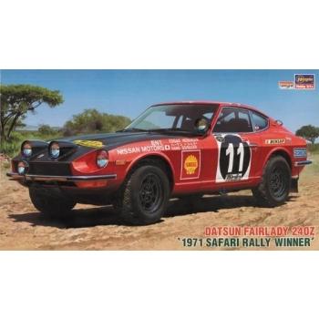 1/24 Hasegawa Datsun Fairlady 240Z 1971 Safari Rally Winner