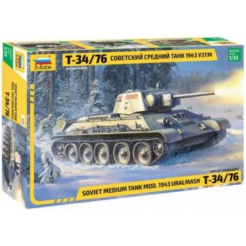 """1/35 ZVEZDA T-34-76 Mod.1943 Uralmash"""""""