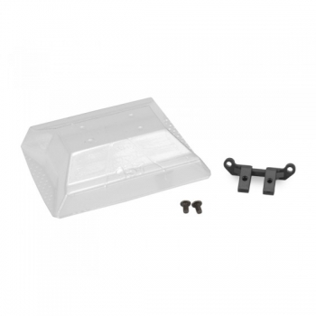 Jconcepts Xray XB2 lower front wing mount, w/ wing