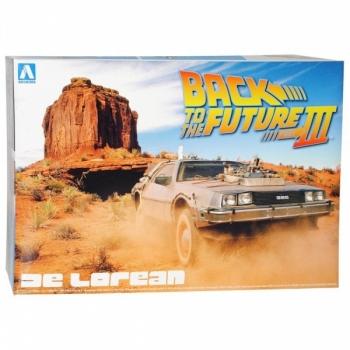 1/24 AOSHIMA Back To The Future III DeLorean