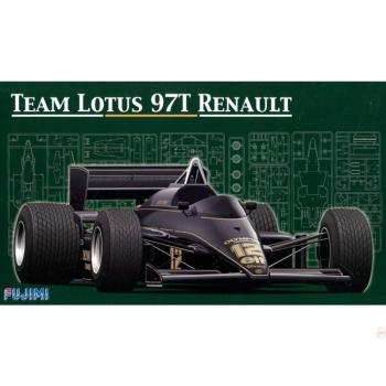 1/24 FUJIMI Lotus 97T 1985