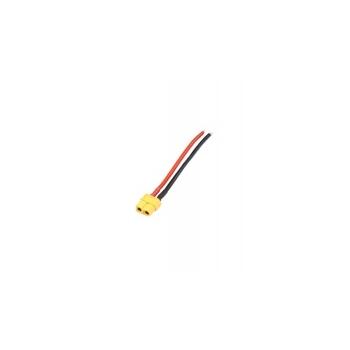 Emane XT60 pistik 10cm 14AWG kaabliga
