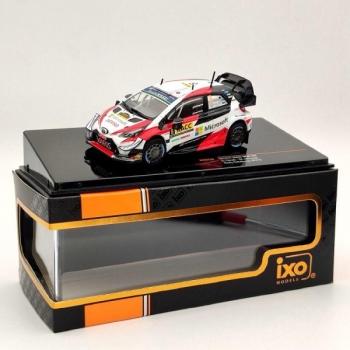 1/43 IXO Toyota Yaris WRC, No.8, Toyota Gazoo racing, Microsoft, WRC, Rally Catalunya 2019a. O.Tänak/M.Jarveoja