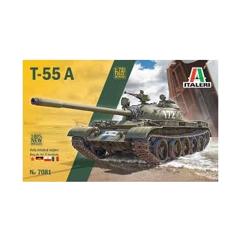 1/72 ITALERI T-55 MEDIUM BATTLE TANK
