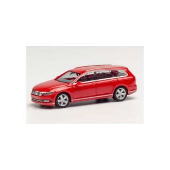 1/87 H0 Herpa VW Passat Variant, tornado red