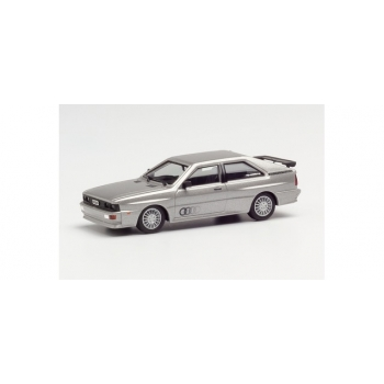 1/87 H0 Herpa Audi Quattro, silver metallic