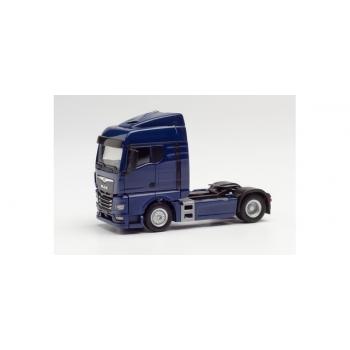 1/87 H0 Herpa MAN TGX GM tractor, blue