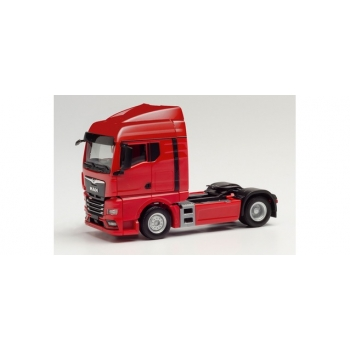 1/87 H0 Herpa MAN TGX GM tractor, red