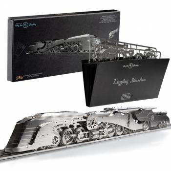 Metallkonstruktor Time for Machine: Dazzling Steamliner