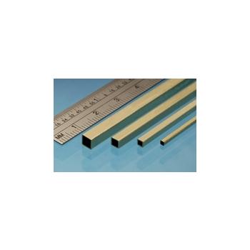 Messingtorud nelikant 3.96 X 3.96 mm, 2tk. , 305mm Albion Metals
