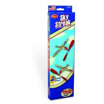 Balsa kummimootorigalennuk Sky Streak 2 pakk Guillow's