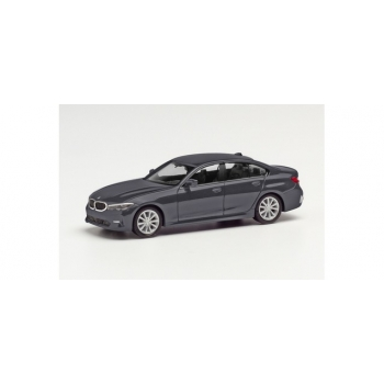 1/87 HERPA BMW 3er Limousine, mineral gray metallic