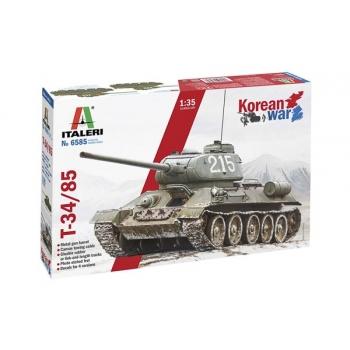 "1/35 Italeri T-34/85 ""KOREAN WAR"""