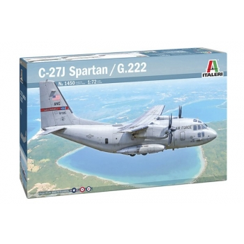 1/72 ITALERI C-27A/J SPARTAN - G.222