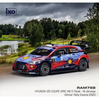 1/43 Hyundai i20 Coupe WRC, No.8, WRC, Rally Estonia 2020 võitja, O.Tänak / M.Järveoja