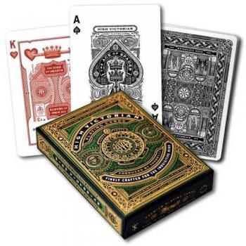 Pokercards High Victorian Green Premium