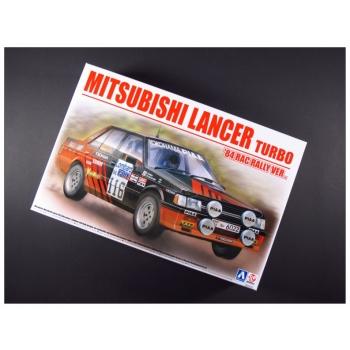 1/24 BEEMAX Mitsubishi Lancer Turbo 84 RAC Rally ver