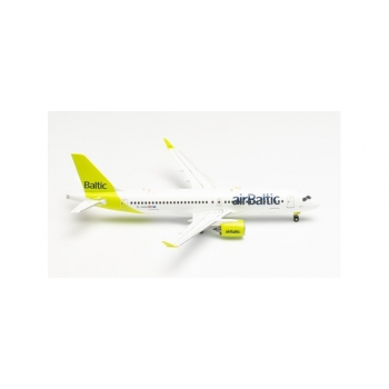 """1/200 airBaltic Airbus A220-300 - new livery """"100th A220"""" – YL-AAU"""