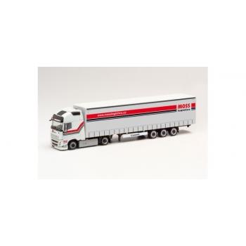 "1/87 Volvo FH Gl. Lowliner ""Moss Logistics"" (Tschechien/Bratislava) Herpa"