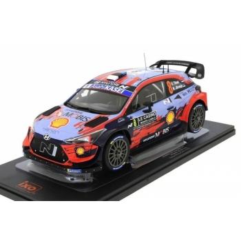 1/18 Hyundai i20 CHyundai i20 Coupe WRC, No.8, Rallye WM, Rallye Monte Carlo, 2020, O.Tänak/M.Järveoja IXO