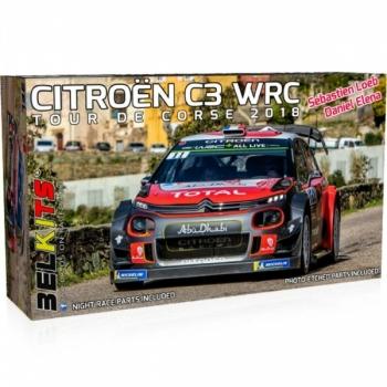 1/24 Citroen C3 WRC Tour de Corse 2018 S.Loeb BELKITS