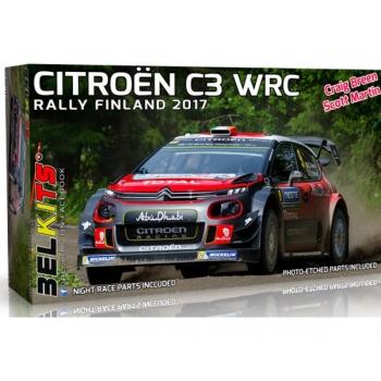 1/24 Citroen C3 WRC Rally Finland 2017 C.Breen BELKITS