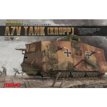 1/35 Wwi German A7V Tank (Krupp) MENG