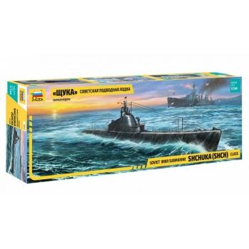 """1/144 """"Shchuka"""" Class Russian Submarine ZVEZDA"""