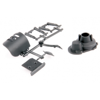 S10 Twister ülekande kate Motor and Maingear Cover Set + Skid Plate - S10 Twister BX/TX