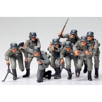 1/35 TAMIYA German Assault troops