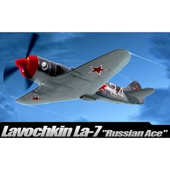 1/48 ACADEMY LAVOCHKIN LA-7 RUSSIAN ACE