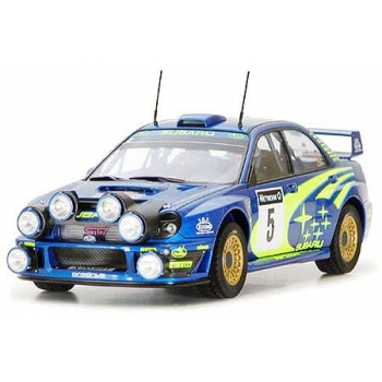TA24250 - 1/24 Tamiya Subaru Impreza WRC 2001 - Rally of Great Britain