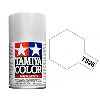 TA85026 - Tamiya TS-26 Pure White spray