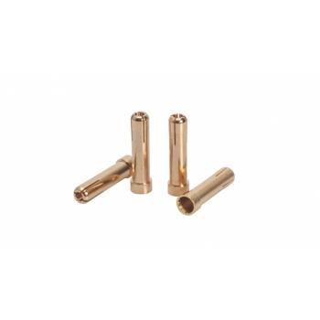 LRP 5mm/4mm adapter pistik (4tk)