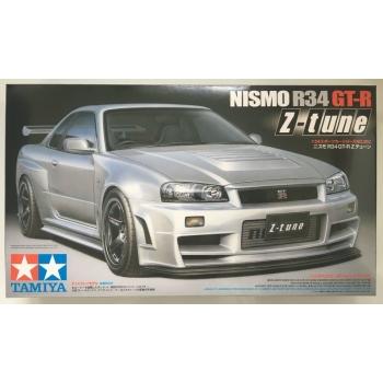 TA24282 - 1/24 Tamiya Nissan Nismo R34 GT-R Z-Tune