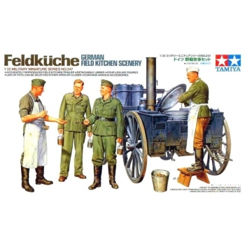 TA35247 - 1/35 Tamiya Saksa väliköök/ German Field Kitchen