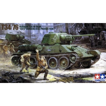 1/35 TAMIYA T34/76, 'ChTZ' Ver.