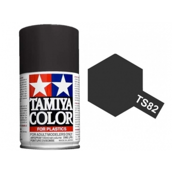TAMIYA TS-82 Rubber Black spray
