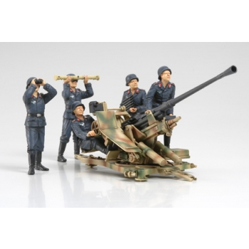 1/35 TAMIYA 3.7cm FLAK37 Anti-Aircraft Gun - w/Crew Set