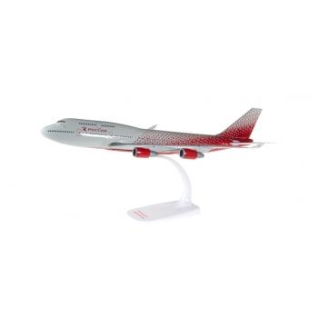 1/250 Rossiya Airlines Boeing 747-400 Herpa Snap Fit