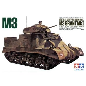 1/35 TAMIYA British Army Medium Tank M3 Grant Mk I