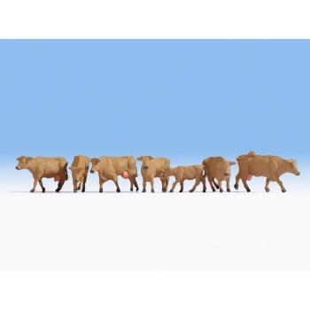 1/87 Noch Pruunid lehmad H0