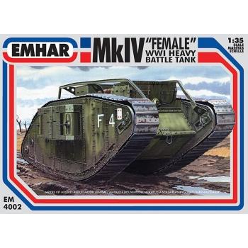 1/35 EMHAR WWI Mk.IV Female