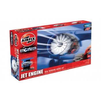 Kokkupandav reaktiivmootori makett Airfix