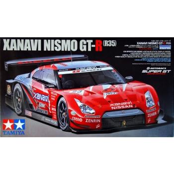 1/24 TAMIYA Xanavi Nismo GT-R R35