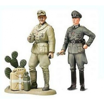 1/35 TAMIYA Wehrmacht Officer and Afrika Korps Tank Commander