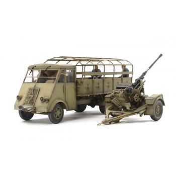 1/35 TAMIYA German 3.5ton Truck AHN - w/3.7cm Flak 37 AA Gun
