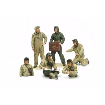1/35 TAMIYA US Tank Crew Set - European Theater