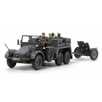 1/48 TAMIYA German 6x4 Towing Truck Kfz.69 - w/3.7cm Pak